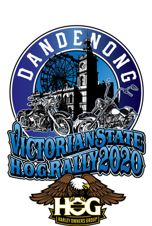 2020 Vic State Rally Hosted by the Dandenong Chapter of the Harley Owners Group and sponsored by Harley-Heaven Dandenong the Victorian State H.O.G. Rally will be held at the Dandenong Showgrounds. Situated just 35 Km from the Melbourne CBD, Dandenong is perfectly placed for between the magnificent Dandenong Ranges and the picturesque Mornington Peninsula.